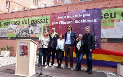 Encarni García es presenta a candidata a alcaldessa