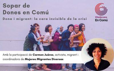 L'activista Carmen Juares tancarà el curs de les dones de Viladecans en Comú