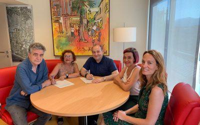 Els grups municipals de PSC i Viladecans en Comú signen un pacte de Govern de Progrés