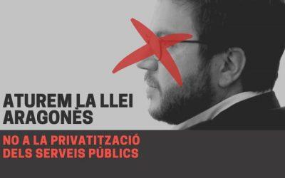 Les amenaces de la llei Aragonès per a l'educació, la salut i els serveis socials. Parlem-ne!