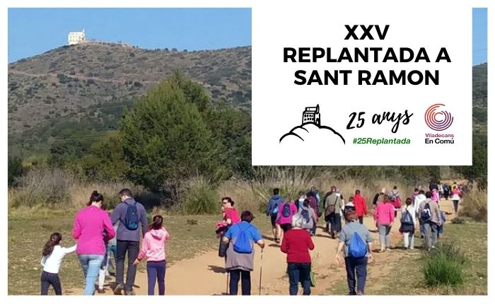 Viladecans en Comú celebra els 25 anys de la Replantada popular a Sant Ramon