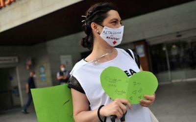 El Ple municipal de l'Ajuntament de Viladecans aprova una moció en defensa del sistema públic de salut a proposta de Viladecans en Comú