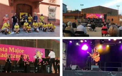 #CulturaSegura, Festa Major segura