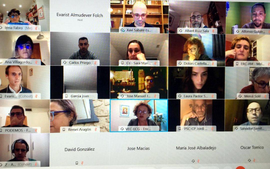 Comença la taula per l'emergència climàtica a Viladecans amb entitats locals i experts